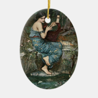The Charmer Ceramic Ornament