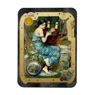 The Charmer Steampunk - Rectangle Magnet