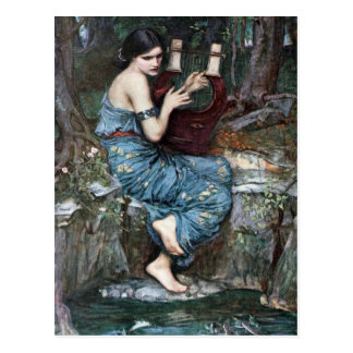 The Charmer - Waterhouse Postcard