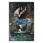 The Charmer - Waterhouse Poster