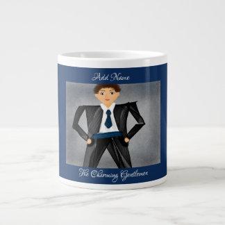 """""""The Charming Gentlemen"""" Jumbo Mug"""