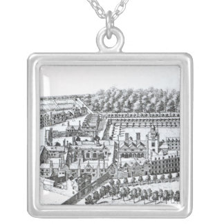The Charterhouse Hospital, c.1720 Silver Plated Necklace