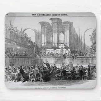 The Chartist Convention at Fitzroy Square Mouse Pad