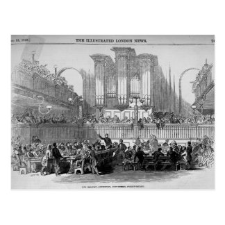 The Chartist Convention at Fitzroy Square Postcard