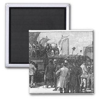 The Chartist Demonstration on Kennington Magnet