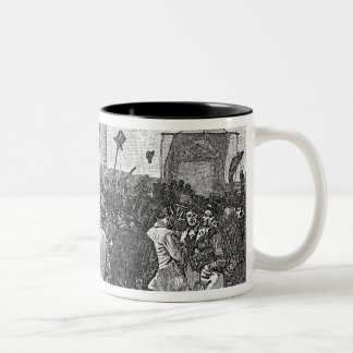 The Chartist Demonstration on Kennington Coffee Mugs
