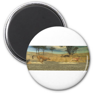 The Chase 2 Inch Round Magnet