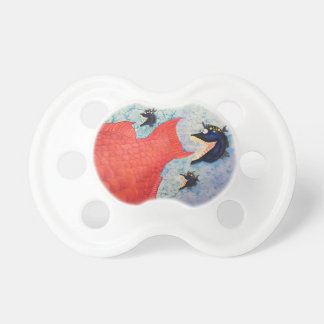 """""""The Chase"""" Fish with Attitude Pacifier"""