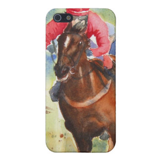 The Chase horse racing iPhone case