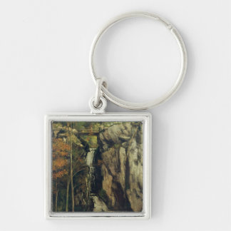 The Chasm at Conches, 1864 Keychain