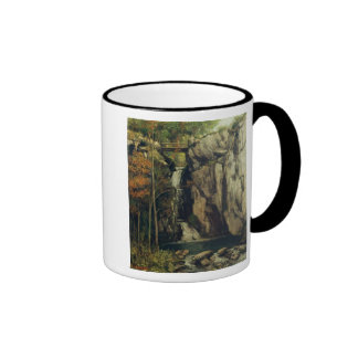 The Chasm at Conches, 1864 Ringer Coffee Mug