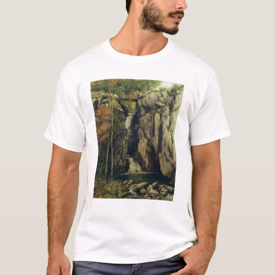 The Chasm at Conches, 1864 T-Shirt