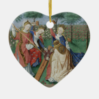 The Chastisement of the Heart Ceramic Ornament