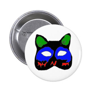 The CHAT1.png MASK 2 Inch Round Button