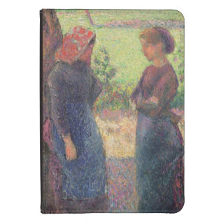 The Chat c 1892 oil on canvas Kindle Touch Case