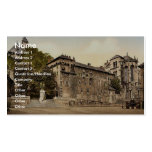 The Chateau and the monument Maistre, Chambery, Fr Business Card