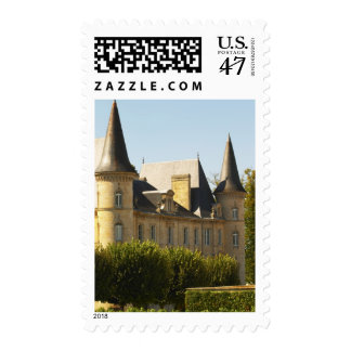 The Chateau Baron Pichon Longueville in Postage Stamp