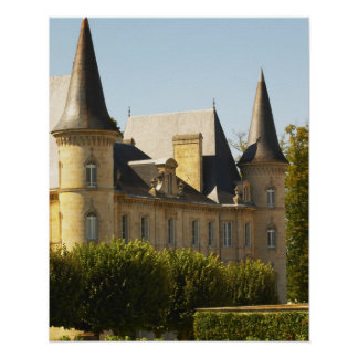 The Chateau Baron Pichon Longueville in Posters