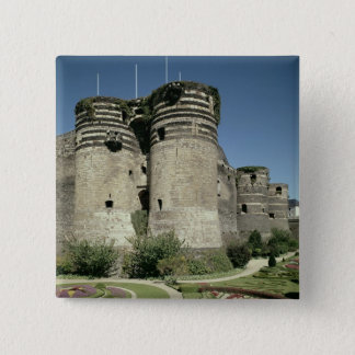 The Chateau d'Angers, completed 1238 Pinback Button