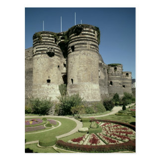 The Chateau d'Angers, completed 1238 Post Card