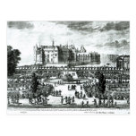 The Chateau de Chantilly and the gardens designed Post Cards