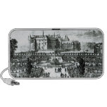 The Chateau de Chantilly and the gardens designed Portable Speaker