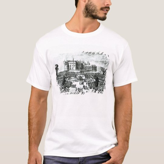 The Chateau de Chantilly and the gardens designed T-Shirt