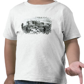 The Chateau de Chantilly and the gardens designed Tees