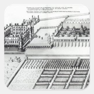 The Chateau de Gaillon Square Sticker