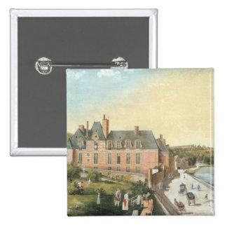 The Chateau de la Chaussee, Bougival Pinback Button