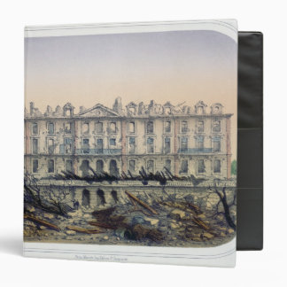 The Chateau de Meudon Bombarded 3 Ring Binder