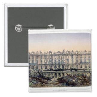 The Chateau de Meudon Bombarded Pinback Button