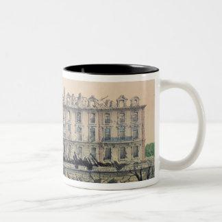 The Chateau de Meudon Bombarded Two-Tone Coffee Mug