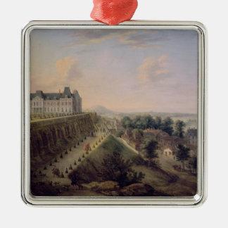 The Chateau de Meudon Metal Ornament