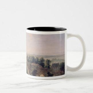 The Chateau de Meudon Two-Tone Coffee Mug
