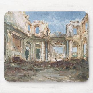 The Chateau de Saint-Cloud after the Fire Mouse Pad