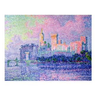 The Chateau des Papes, Avignon, 1900 Postcard