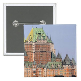 The Chateau Frontenac in Quebec City, Canada. Buttons