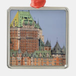 The Chateau Frontenac in Quebec City, Canada. Christmas Ornaments