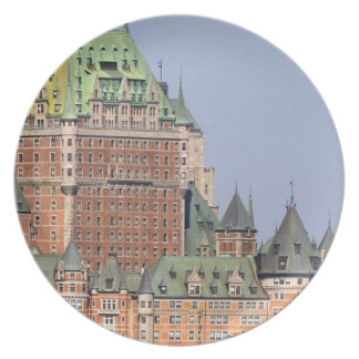 The Chateau Frontenac in Quebec City, Canada. Dinner Plate
