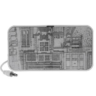 The Chateau, gardens and part of the park at Verne Portable Speaker