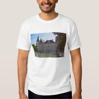 The Chateau Pichon Longueville Baron and pond T-shirt