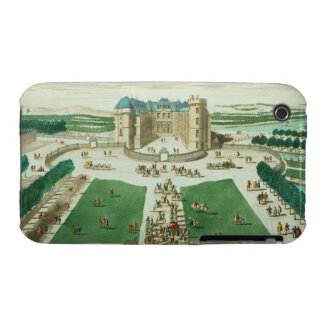 The Chateau Rambouillet, engraved by Antoine Aveli iPhone 3 Cases