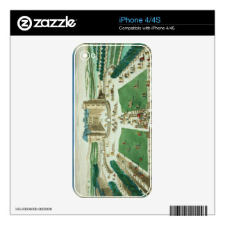 The Chateau Rambouillet, engraved by Antoine Aveli Decal For The iPhone 4S