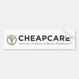 The CheapCare™ America's #1 Denier Bumper Sticker