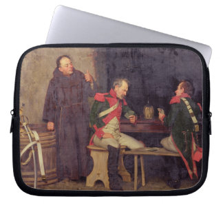 The Cheat (oil on canvas) (one of pair - See 19572 Laptop Sleeve