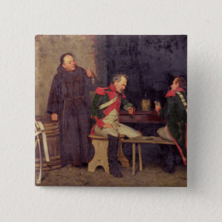 The Cheat (oil on canvas) (one of pair - See 19572 Pinback Button
