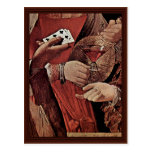The Cheat With The Ace Of Clubs Detail Post Cards