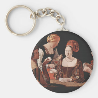 The Cheat (with the Ace of Diamonds) - 1635 Keychain