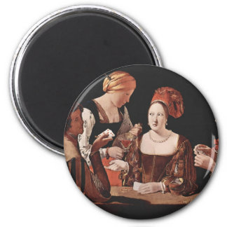 The Cheat (with the Ace of Diamonds) - 1635 Magnet